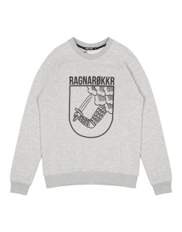 Мужской свитшот Sønner af vinden Ragnarok heather grey