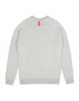Мужской свитшот Sønner af vinden Bar logo heather grey