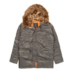 Мужская парка Alpha Industries N3B VF 59 repl.grey