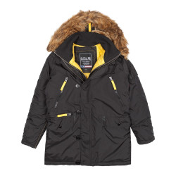 Мужская парка Alpha Industries PPS N3B black