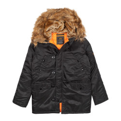 Мужская парка Alpha Industries N3B VF 59 black