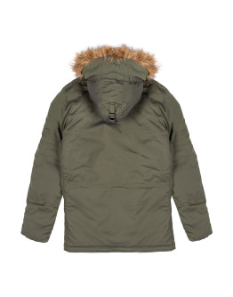 Мужская парка Alpha Industries Explorer dark green