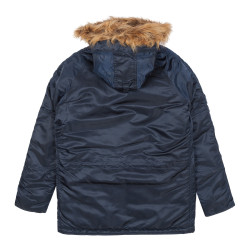 Мужская парка Alpha Industries N3B VF 59 repl.blue