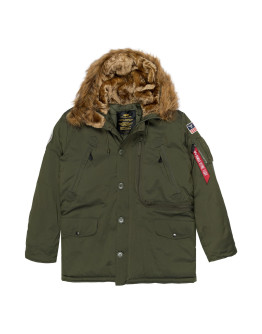 Парка Polar dark green