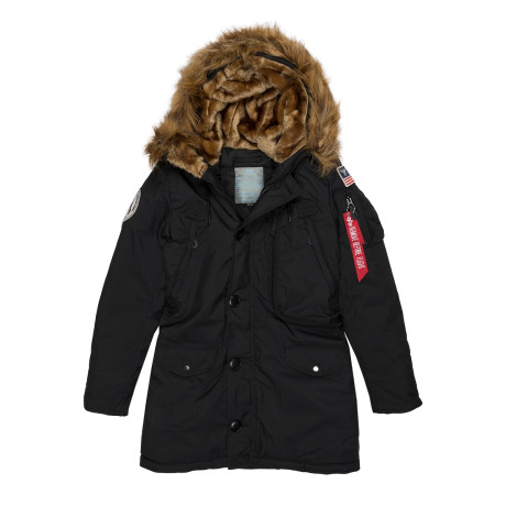 Женская парка Alpha Industries Polar Wmn black