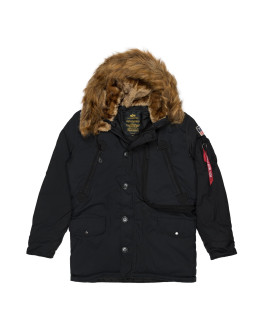 Мужская парка Alpha Industries Polar black