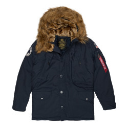 Мужская парка Alpha Industries Polar repl.blue