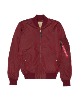 Мужская куртка Alpha Industries MA1-TT burgundy