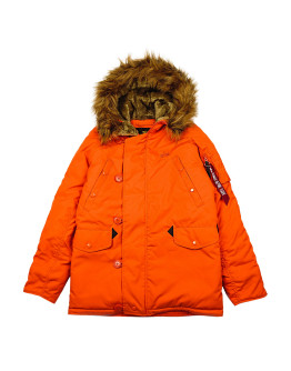 Мужская парка Alpha Industries Explorer flame orange