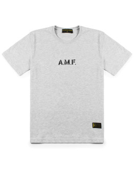 Мужская футболка AMF Company G Circle heather grey