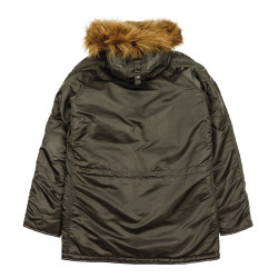 Мужская парка Alpha Industries N3B VF 59 grey black