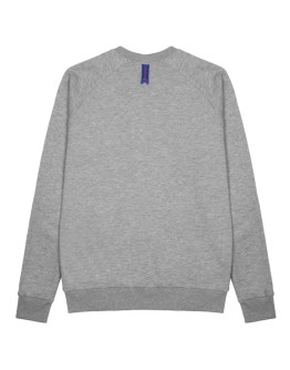 Мужской свитшот Sønner af vinden Blank is heather grey