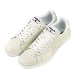 Кеды Game l low waxed white