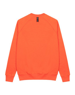 Женская толстовка Sønner af vinden Bar logo black reflective orange