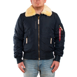 Мужская куртка Alpha Industries Injector III rep.blue
