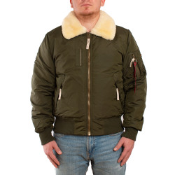 Мужская куртка Alpha Industries Injector III dark green