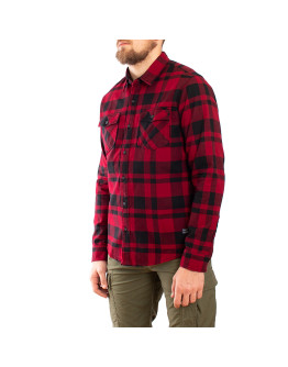 Мужская рубашка Vintage Industries Austin red check