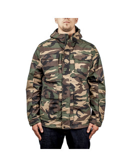 Мужская куртка Vintage Industries Levin woodland camo