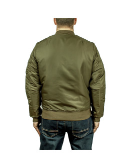 Мужская куртка Vintage Industries Westford MA1 olive drab