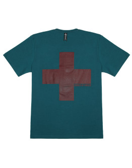 Мужская футболка Sønner af vinden Heat reactive Cross marine