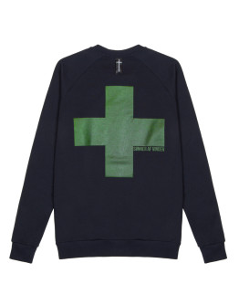 Мужской свитшот Sønner af vinden Heat reactive cross navy