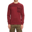 Мужской свитшот Weekend Offender Cucuta burgundy