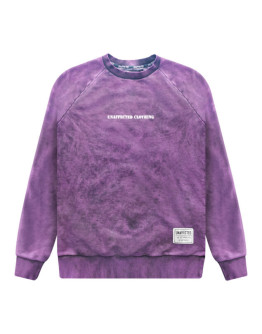 Мужской свитшот Unaffected Garment dyed purple