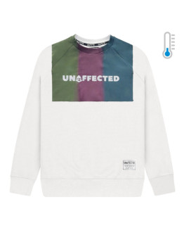 Мужской свитшот Unaffected Heat reactive HM white